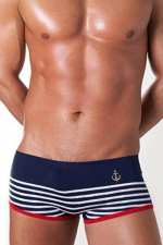 Boxer homme marine - Paris Hollywood
