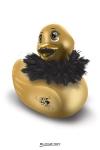 Duckie Paris Travel Strass et Paillettes - doré - Mini Duckie Paris, doré, avec son bec pailleté... un cadeau coquin incontournable pour la faire craquer.