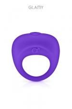 Anneau de pénis vibrant - Glamy : Un anneau pénien pour renforcer et maintenir l'érection tout en stimulant le clitoris.