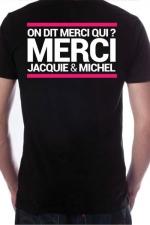 T-shirt Jacquie & Michel n°7 : Le Tee-shirt exclusif (visuel 7) à l'effigie de  Jacquie & Michel, votre site amateur préféré.