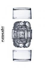 Masturbateur Fleshlight Quickshot vantage : Le nouveau plus petit masturbateur Fleshlight (en version transparente): l'enfiler c'est l'adopter!