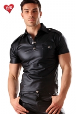 Polo Men's military faux cuir